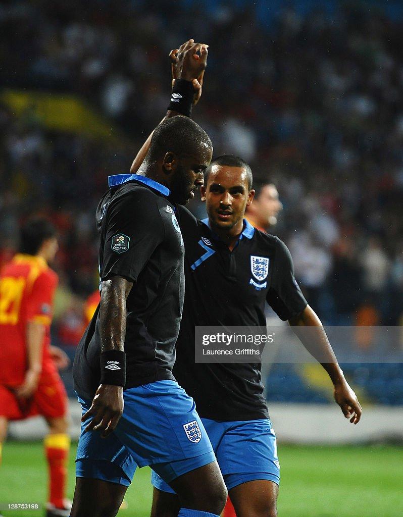 Montenegro v England - EURO 2012 Qualifier : ニュース写真