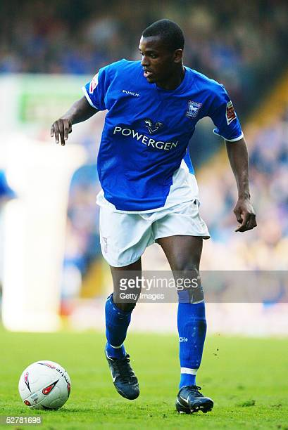 Darren Bent of Ipswich Town in action during the Coca Cola Championship League match between Ipswich Town and Derby County at Portman Road Stadium on...
