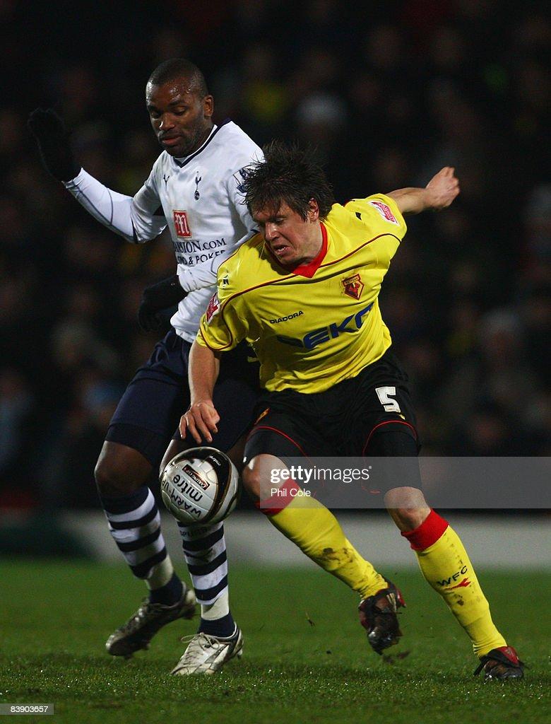 Watford v Tottenham Hotspur - Carling Cup : News Photo