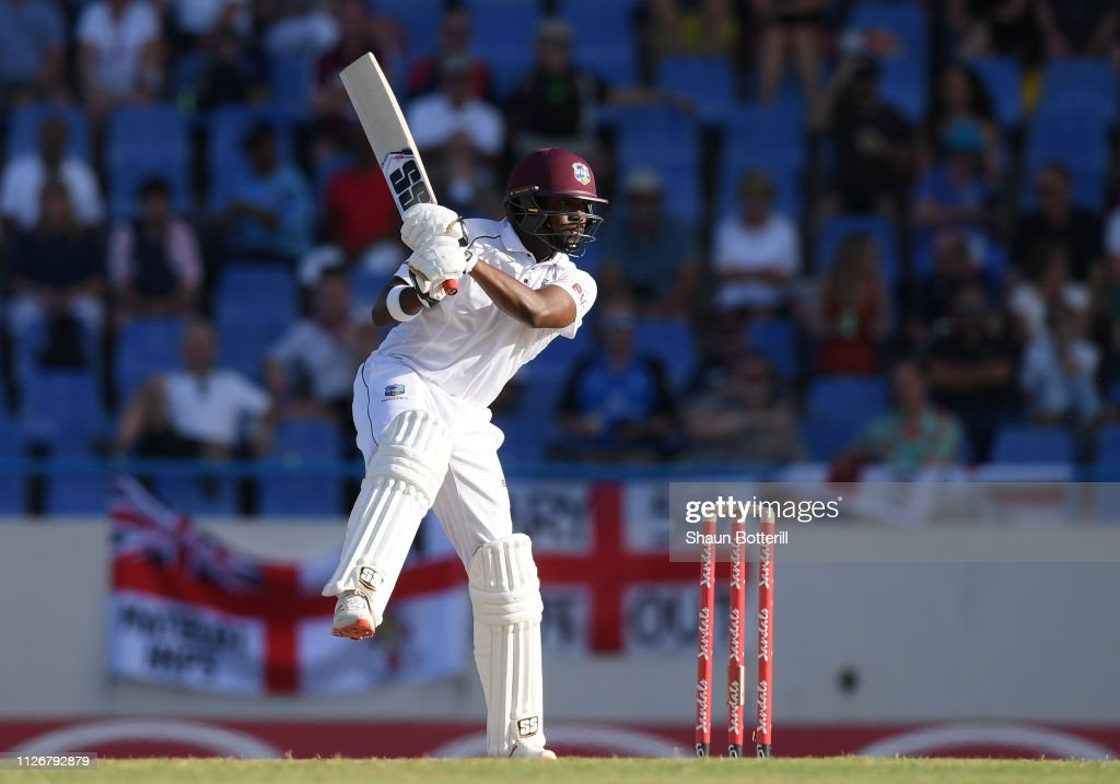 West Indies v England 2nd Test - Day Two : News Photo