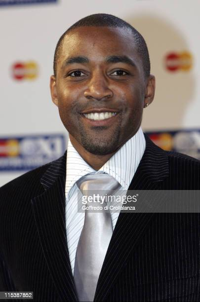 Darren Campbell during FIFPRO World XI Player Awards at Wembley Conference Centre in London Great Britain