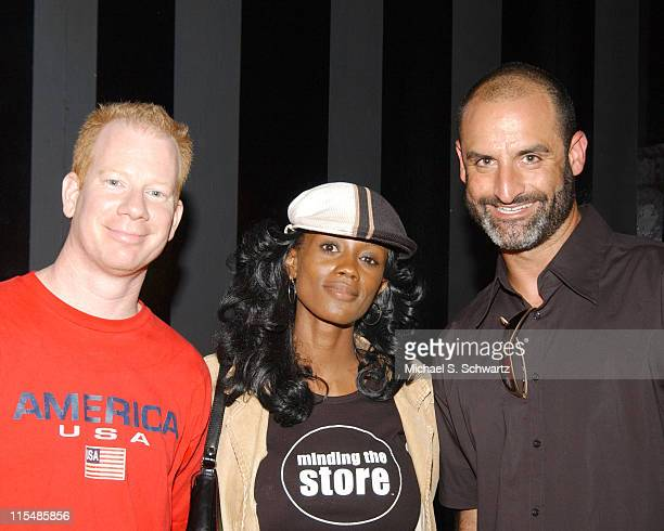 Darren Carter Kay West and Brody Stevens during Memorial for Comedian Freddy Soto at The Comedy Store at The Comedy Store in West Hollywood...