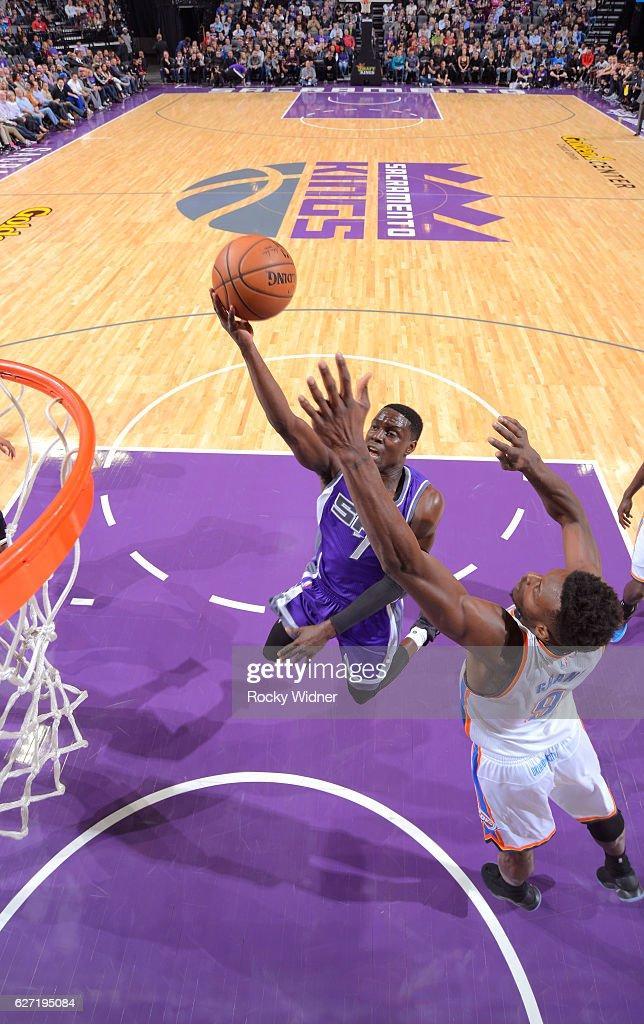 Oklahoma City Thunder v Sacramento Kings : News Photo