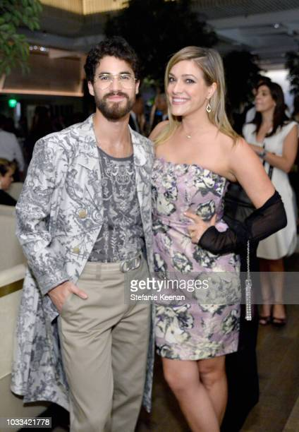 Darren Criss and Mia Swier attend The Hollywood Reporter SAGAFTRA 2nd annual Emmy Nominees Night presented by Douglas Elliman and Heineken at Avra...
