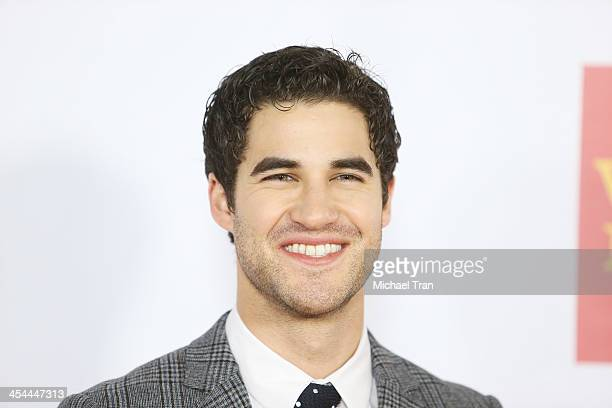 Darren Criss arrives at the 15th Annual Trevor Project Benefit held at Hollywood Palladium on December 8 2013 in Hollywood California