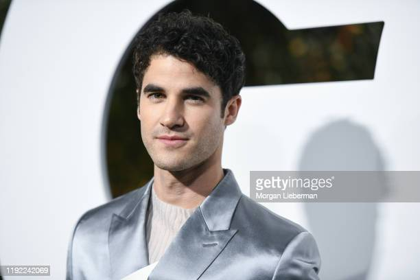 Darren Criss arrives at the 2019 GQ Men Of The Year event at The West Hollywood Edition on December 05 2019 in West Hollywood California