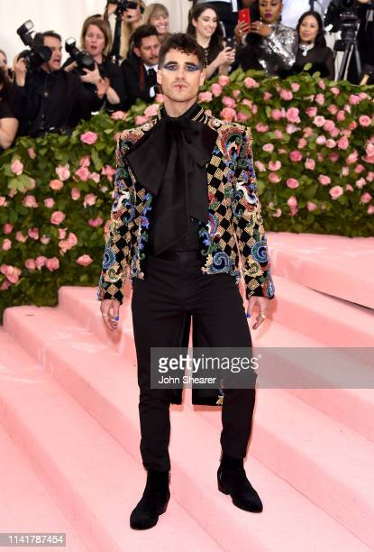 Darren Criss arrives at the 2019 Met Gala Celebrating Camp Notes On Fashion at The Metropolitan Museum of Art on May 6 2019 in New York City