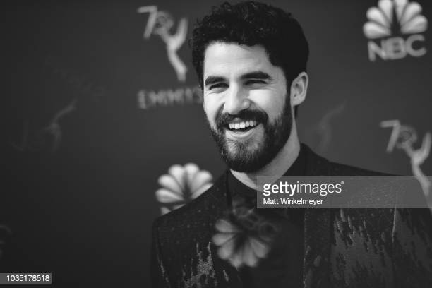 Darren Criss arrives at the 70th Emmy Awards on September 17, 2018 in Los Angeles, California.