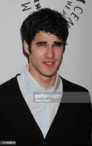 Darren Criss arrives at the Glee Paleyfest night at The Paley Center for Media at Saban Theatre on March 16 2011 in Beverly Hills California