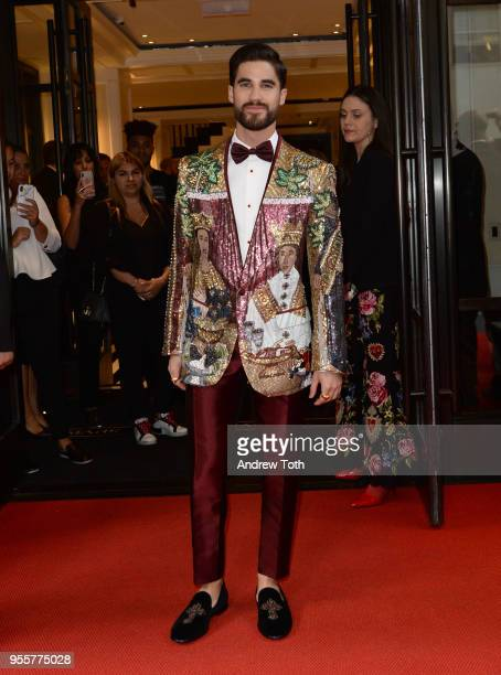 Darren Criss attends as The Mark Hotel celebrates the 2018 Met Gala at The Mark Hotel on May 7 2018 in New York City