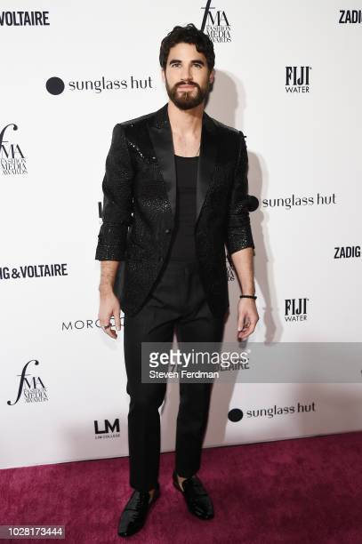 Darren Criss attends Daily Front Row's Fashion Media Awards presented by ZadigVoltaire Sunglass Hut Moroccan Oil LIM Fiji on September 6 2018 in New...