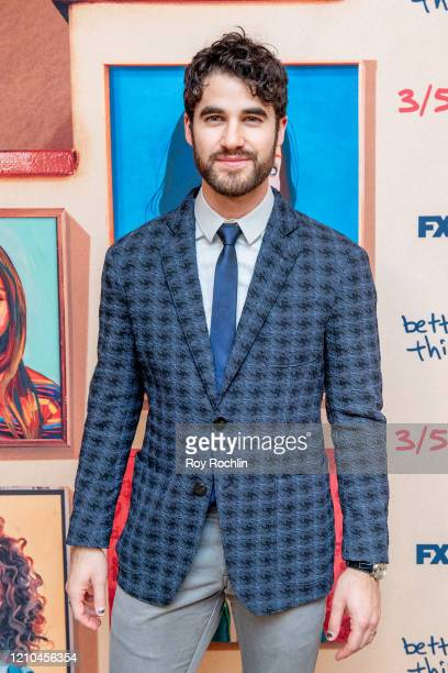Darren Criss attends FX's Better Things Season 4 Premiere at the Whitby Hotel on March 04 2020 in New York City