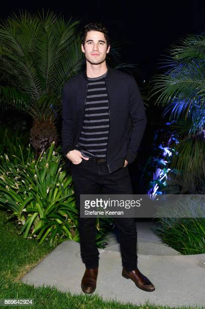 Darren Criss attends GQ Style Hugo Boss celebrate Amazing Spaces with Edgar Ramirez at John Lautner's Harvey House on November 2 2017 in Los Angeles...