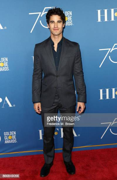 Darren Criss attends Hollywood Foreign Press Association Hosts Television Game Changers Panel Discussion at The Paley Center for Media on October 26...