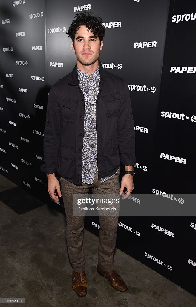 Darren Criss attends Paper Magazine, Sprout By HP & DKNY Break The Internet Issue Release at 1111 Lincoln Road on December 4, 2014 in Miami, Florida.