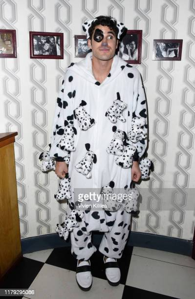 Darren Criss attends Podwall Entertainment's 10th Annual Halloween Party presented by Maker's Mark on October 31 2019 in West Hollywood California