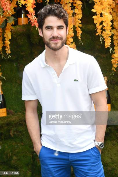 Darren Criss attends the 11th annual Veuve Clicquot Polo Classic at Liberty State Park on June 2 2018 in Jersey City New Jersey