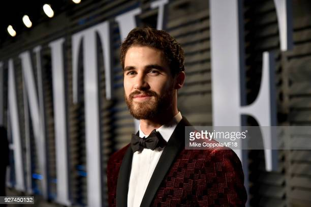 Darren Criss attends the 2018 Vanity Fair Oscar Party hosted by Radhika Jones at Wallis Annenberg Center for the Performing Arts on March 4 2018 in...