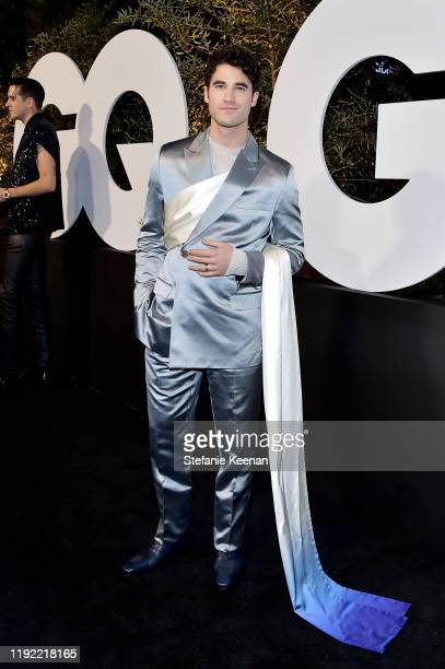 Darren Criss attends the 2019 GQ Men Of The Year Celebration At The West Hollywood EDITION on December 05 2019 in West Hollywood California