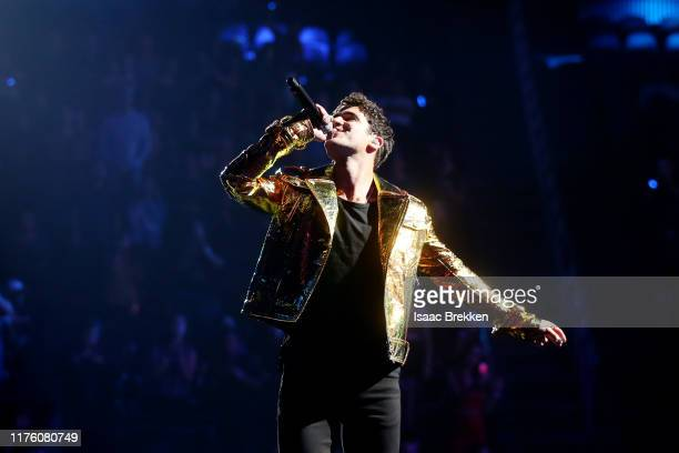 Darren Criss attends the 2019 iHeartRadio Music Festival at T-Mobile Arena on September 20, 2019 in Las Vegas, Nevada.