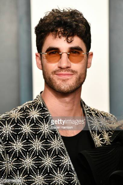 Darren Criss attends the 2020 Vanity Fair Oscar Party hosted by Radhika Jones at Wallis Annenberg Center for the Performing Arts on February 09 2020...