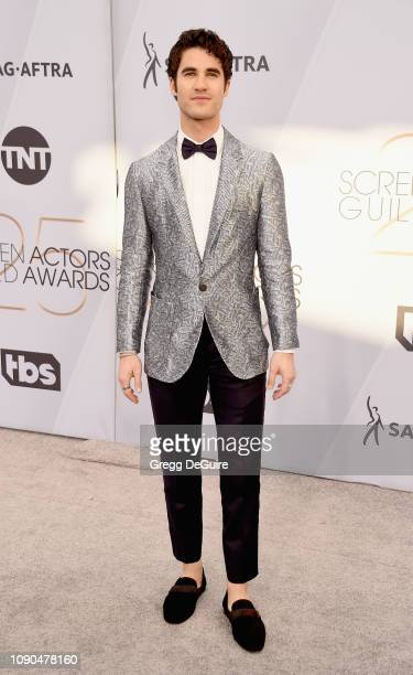 Darren Criss attends the 25th Annual Screen Actors Guild Awards at The Shrine Auditorium on January 27 2019 in Los Angeles California 480645
