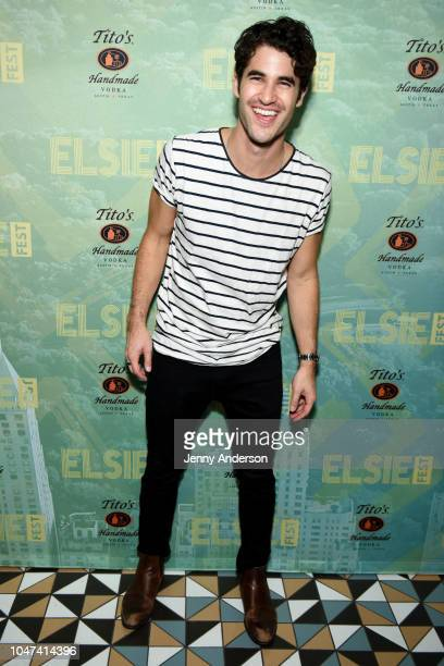 Darren Criss attends the 4th Annual Elsie Fest Broadway's Outdoor Music Festival at Central Park SummerStage on October 7 2018 in New York City