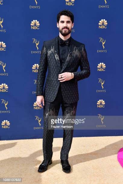 Darren Criss attends the 70th Emmy Awards at Microsoft Theater on September 17 2018 in Los Angeles California
