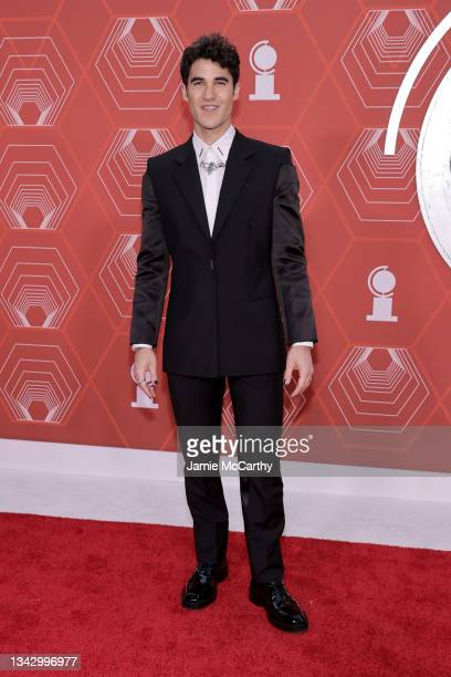 Darren Criss attends the 74th Annual Tony Awards at Winter Garden Theater on September 26, 2021 in New York City.