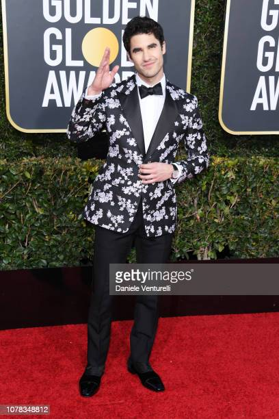 Darren Criss attends the 76th Annual Golden Globe Awards at The Beverly Hilton Hotel on January 6 2019 in Beverly Hills California