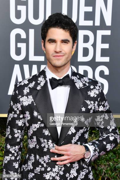 Darren Criss attends the 76th Annual Golden Globe Awards held at The Beverly Hilton Hotel on January 06 2019 in Beverly Hills California