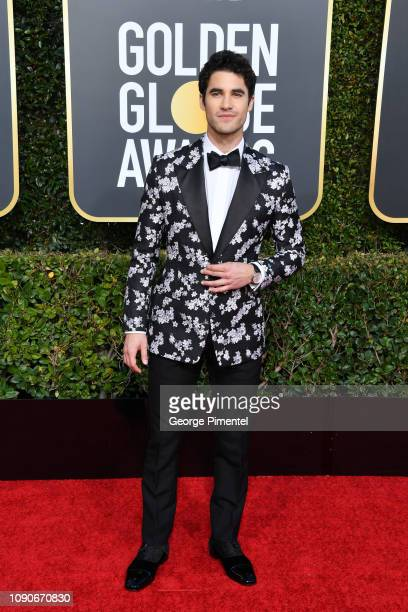 Darren Criss attends the 76th Annual Golden Globe Awards held at The Beverly Hilton Hotel on January 06, 2019 in Beverly Hills, California.