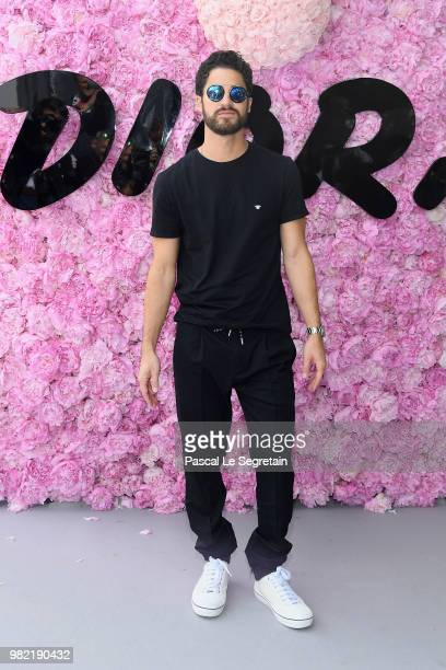 Darren Criss attends the Dior Homme Menswear Spring/Summer 2019 show as part of Paris Fashion Week on June 23 2018 in Paris France