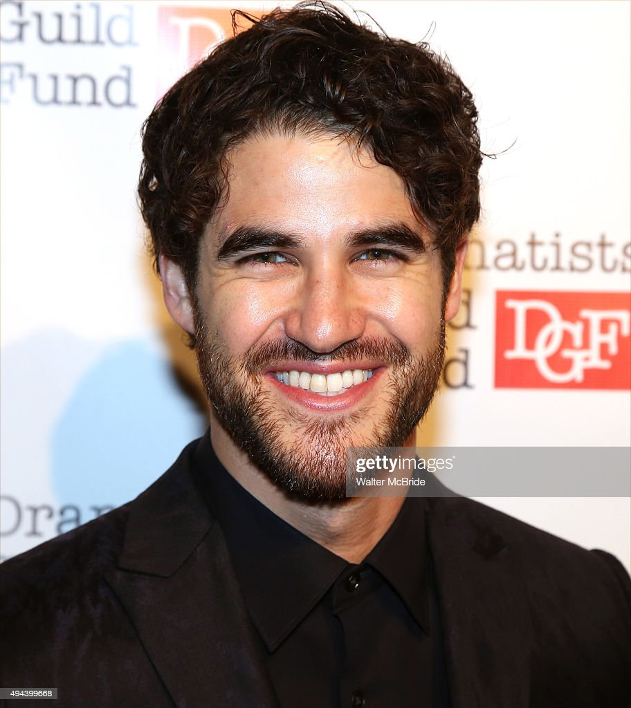 Darren Criss attends the Dramatists Guild Fund's Gala: 'Great Writers Thank Their Lucky Stars' at Gotham Hall on October 26, 2015 in New York City.