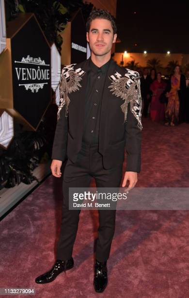 Darren Criss attends the Fashion Trust Arabia Prize awards ceremony on March 28, 2019 in Doha, Qatar.