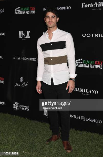 Darren Criss attends the Filming Italy Sardegna Festival 2019 Day 2 at Forte Village Resort on June 14 2019 in Cagliari Italy