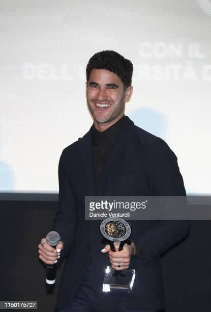 Darren Criss attends the Filming Italy Sardegna Festival 2019 Day 3 at Forte Village Resort on June 15 2019 in Cagliari Italy