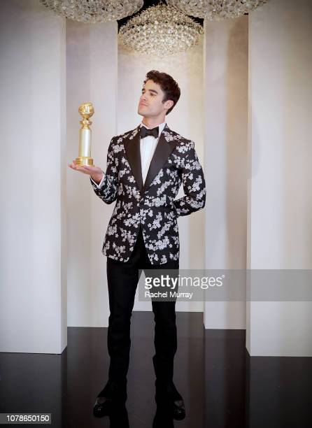 Darren Criss attends the FOX/HULU Golden Globe Awards viewing party and post-show celebration at The Beverly Hilton Hotel on January 6, 2019 in...