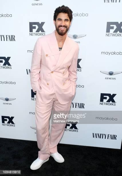 Darren Criss attends the FX And Vanity Fair Emmy Celebration at CRAFT LA on September 16, 2018 in Los Angeles, California.