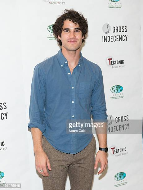 Darren Criss attends the 'Gross Indecency The Three Trials Of Oscar Wilde' after party at John Jay College on October 5 2015 in New York City