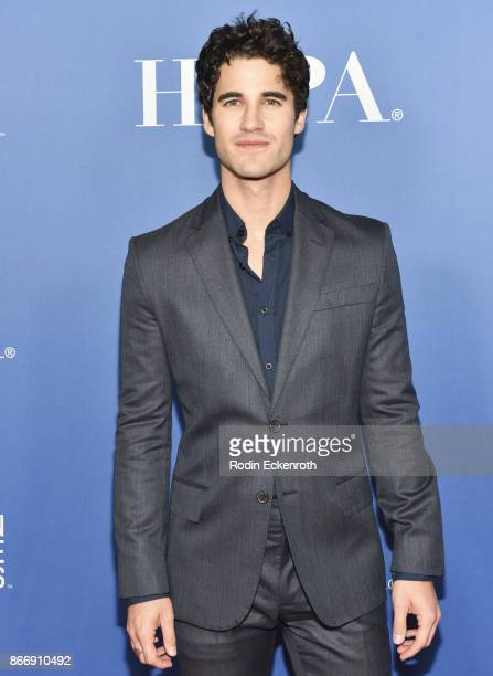 Darren Criss attends the Hollywood Foreign Press Association Hosts Television Game Changers Panel Discussion at The Paley Center for Media on October...