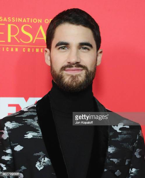 Darren Criss attends the Los Angeles Premiere 'The Assassination Of Gianni Versace American Crime Story' at ArcLight Hollywood on January 8 2018 in...