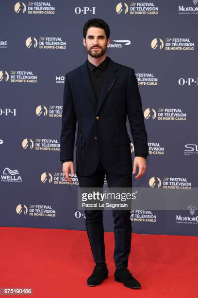 Darren Criss attends the opening ceremony of the 58th Monte Carlo TV Festival on June 15 2018 in MonteCarlo Monaco