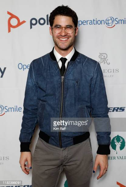 Darren Criss attends the Operation Smile 8th Annual Park City Ski Challenge presented by Poly St Regis Deer Valley Deer Valley Resort at The St Regis...