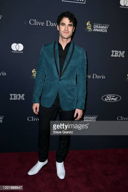 """Darren Criss attends the Pre-GRAMMY Gala and GRAMMY Salute to Industry Icons Honoring Sean """"Diddy"""" Combs on January 25, 2020 in Beverly Hills,..."""