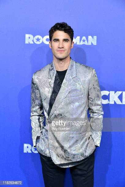 Darren Criss attends the US Premiere of Rocketman at Alice Tully Hall on May 29 2019 in New York New York