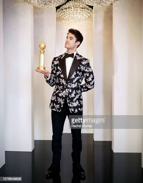 Darren Criss Golden Globes Best Actor in a Limited Series or TV Movie for his celebrated work in The Assassination of Gianni Versace attends the...