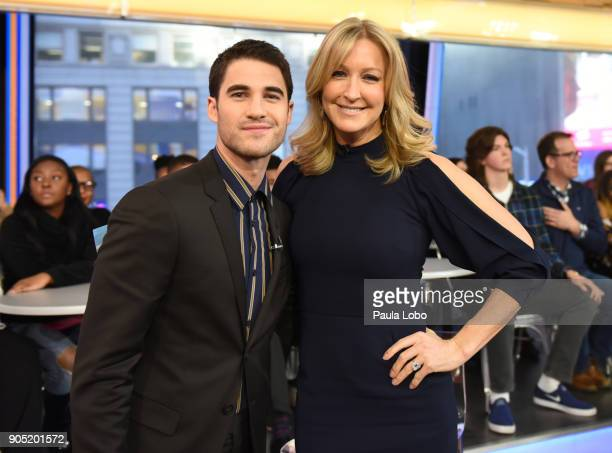 AMERICA Darren Criss is a guest on 'Good Morning America' Monday January 15 airing on the ABC Television Network DARREN