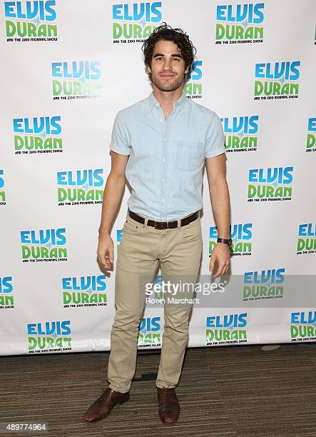 Darren Criss visits The Elvis Duran Z100 Morning Show at Z100 Studio on September 24 2015 in New York City