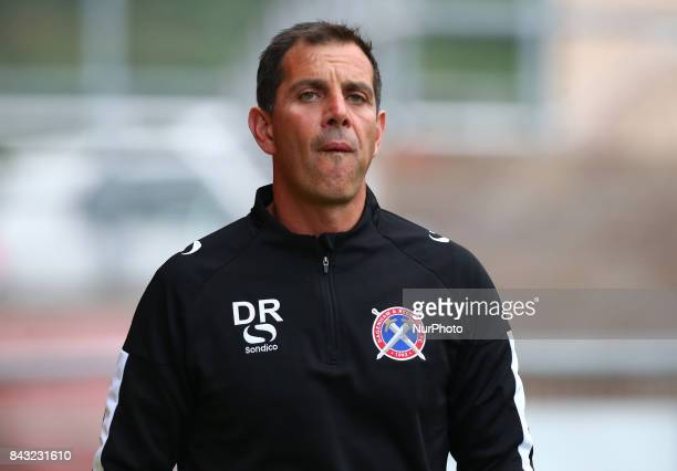Darren Currie first team coach of Dagenham and Redbridge Under 23s during Premier League Cup match between Dagenham and Redbridge Under 23s against...